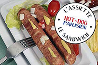 Charles Keller invente le Hot-Dog Parisien